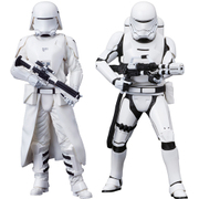 ARTFX+ ファースト・オーダー スノートルーパー&ファースト・オーダー フレームトルーパー 2パック フォースの覚醒版 [STAR WARS(スター・ウォーズ)/フォースの覚醒 PVC塗装済み簡易組立キット]
