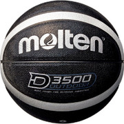 B6D3500KS [バスケットボールボール アウトドアバスケットボールBK/SV6号]