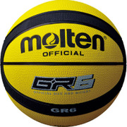 BGR6YK [バスケットボールボール GR6 黄/黒 6号]