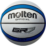 BGR7WB [バスケットボールボール GR7 白/青 7号]