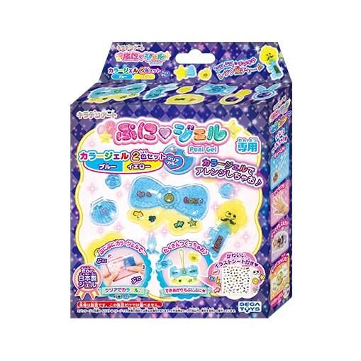 PGR-06 ぷにジェル カラージェル ブルー/イエロー