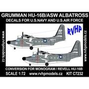 1/72 エアクラフト改造パーツセット HU-16B アルバトロス 対潜哨戒機 (アメリカ海軍、アメリカ空軍) [プラモデル]