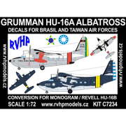 1/72 エアクラフト改造パーツセット HU-16A アルバトロス (ブラジル、台湾) [プラモデル]