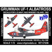 1/72 エアクラフト改造パーツセット UF-1 アルバトロス (アメリカ海軍) [プラモデル]