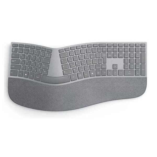 3RA-00017 [Surface Ergonomic(エルゴノミック) キーボード 日本語版(日本語キー配列) Bluetooth 4.0 Smart対応 シルバー]