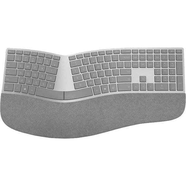 3RA-00021 [Surface Ergonomic(エルゴノミック) キーボード 英語版(英字キー配列) Bluetooth 4.0 Smart対応 シルバー]