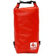 AM-BDB-RD04 [防水バッグ Dry Bag 4L レッド]
