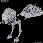 STAR WARS(スター・ウォーズ) AT-ST & SNOWSPEEDER(AT-ST & スノースピーダー) ビークルモデル008 [プラモデル]