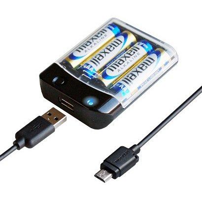 AJ-532 [電池式充電器 microUSBケーブル付]
