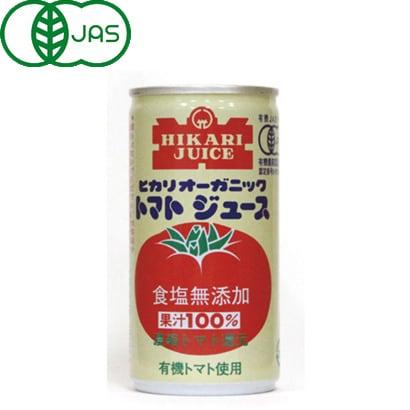 オーガニックトマトジュース食塩無添加 190g