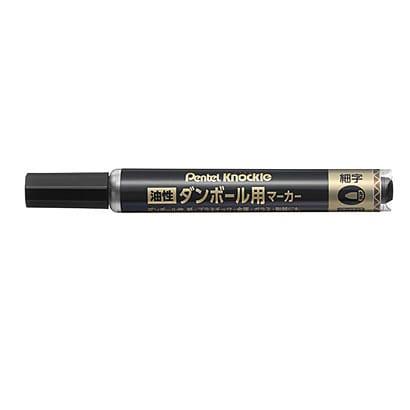 ND150S-A [ダンボール用マーカー 細字 黒]