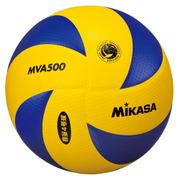 MVA500 [小学生バレーボール 検定球4号軽量 ブルー/イエロー]