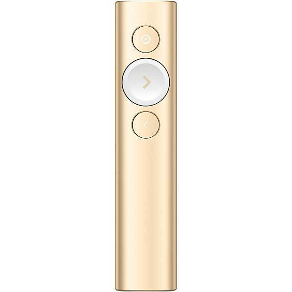 R1000GD [Spotlight (スポットライト) プレゼンテーション リモート  2.4GHz ワイヤレス/Bluetooth Smart接続対応 ゴールド]