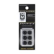 ZH-EP2M-BK [イヤーピース2 Mサイズ ブラック 6個入]