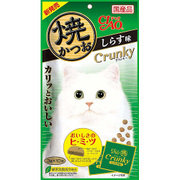 焼かつお クランキー しらす味 3g×10袋 [猫用おやつ]