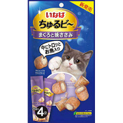 ちゅるビー まぐろと焼ささみ 10g×4袋 [猫用おやつ]