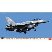 07452 F-16C (ブロック52アドバンスド) ファイティングファルコン タイガーデモチーム [1/48 飛行機シリーズ 限定品]