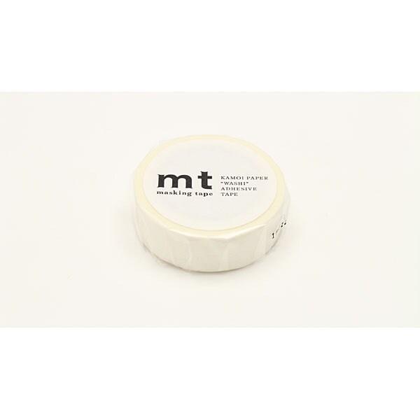 MT01D367 [mt マスキングテープ 1P ドット・ホワイト]