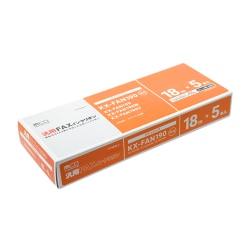 FY18PB-5 [パナソニックFAN190汎用FAXインクリボン 5本入り 18m]