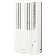 KAW-1971-W [窓用エアコン 冷房除湿専用 木造和室(50/60Hz)4.5/5畳 鉄筋洋室(50/60Hz)7/8畳 ホワイト]