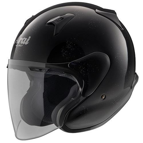 MZ-F XO 65-66 [オープンフェイスヘルメット グラスブラック]