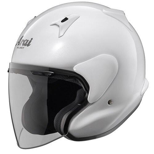 MZ-F XO 63-64 [オープンフェイスヘルメット グラスホワイト]