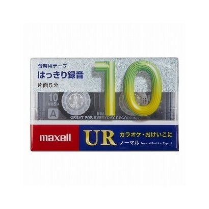 UR-10M [カセットテープ 10分 1巻]