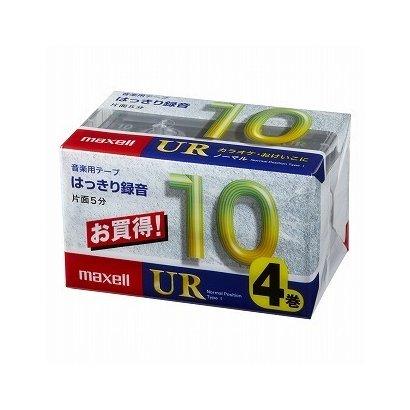 UR-10M4P [カセットテープ 10分 4巻]