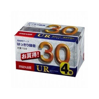 UR-30M4P [カセットテープ 30分 4巻]