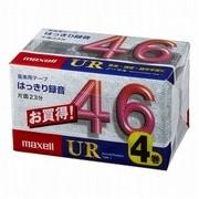 UR-46M4P [カセットテープ 46分 4巻]