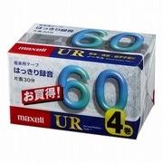 UR-60M4P [カセットテープ 60分 4巻]
