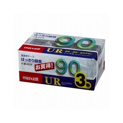 UR-90M3P [カセットテープ 90分 3巻]