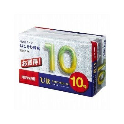 UR-10M10P [カセットテープ 10分 10巻]