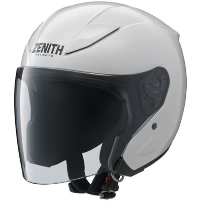 YJ-20 ゼニス パールホワイト-L [ジェットヘルメット SG規格]