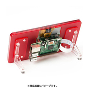 """RASP-LCDFRAME-RD [Frame for the Raspberry Pi 7"""" Touch Screen Display COUPE/赤]"""
