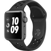 Apple Watch Nike+ - 38mm スペースグレイアルミニウムケースとアンスラサイト/ブラックNikeスポーツバンド
