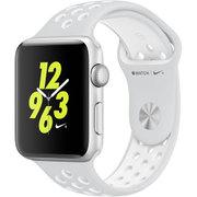 Apple Watch Nike+ - 42mm シルバーアルミニウムケースとピュアプラチナ/ホワイトNikeスポーツバンド