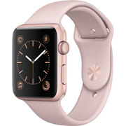 Apple Watch Series 1 - 42mm ローズゴールドアルミニウムケースとピンクサンドスポーツバンド