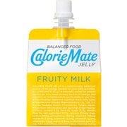 カロリーメイトゼリー フルーティミルク味 215g×6袋 [バランス栄養食品]