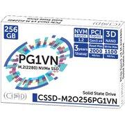 CSSD-M2O256PG1VN [M.2 2280 NVMe接続SSD]