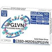 CSSD-M2O512PG1VN [M.2 2280 NVMe接続SSD]