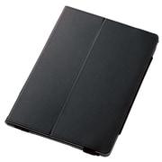 TB-A179PLFBK [iPad 9.7インチ 2017年モデル(第5世代) フラップカバー ソフトレザー 2アングル 軽量 ブラック]