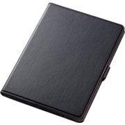 TB-A179360BK [iPad 9.7インチ 2018年/2017年モデル フラップカバー ソフトレザー 360度回転 ブラック]