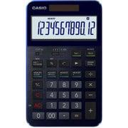 CASIO CALCULATOR S100-BU [メモリー機能付き電子計算機 12桁 50周年モデル ブルー]