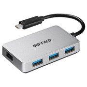 BSH4U100C1SV [USB3.1 Gen1 Type-C 4ポートタイプ バスパワーハブ シルバー]