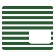 NicoDeco グリーン ボーダー [デコレーションシール]