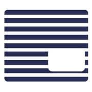 NicoDeco ブルー ボーダー [デコレーションシール]