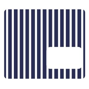 NicoDeco ブルー ストライプ [デコレーションシール]
