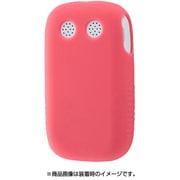 RT-MK4C1/P [みまもりケータイ4 シリコンケース シルキータッチ ピンク半透明]
