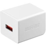 BSMPA2402P1CWH [2.4A USB急速充電器 AUTO POWER SELECT機能搭載 1ポートタイプ Type-Cケーブル付 ホワイト]